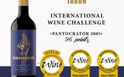 Pantocrátor 2005, el mejor vino de Rioja en el prestigioso International Wine Challenge.