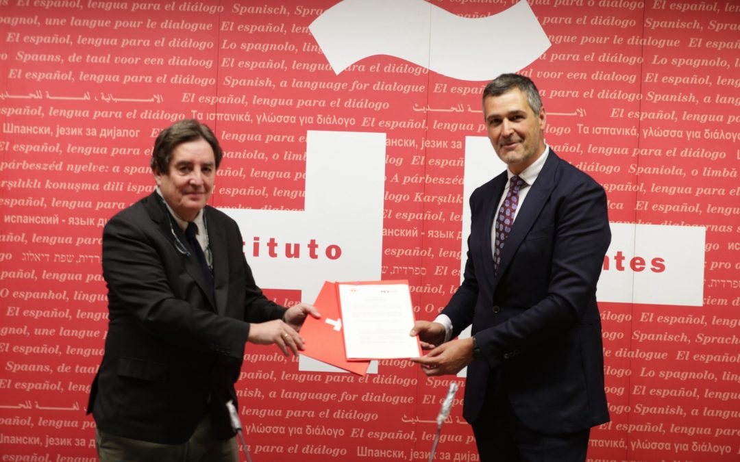 El Instituto Cervantes y la FEV renuevan su convenio para seguir difundiendo la cultura del vino en el mundo