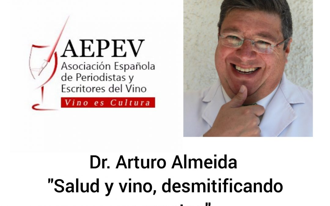 VINO Y SALUD, conferencia del Dr. Almeida (Comité de Cultura)